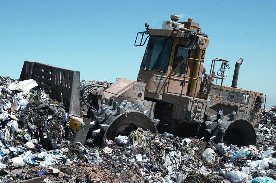 dumping site