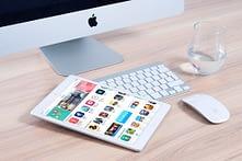 iMac and an iPad
