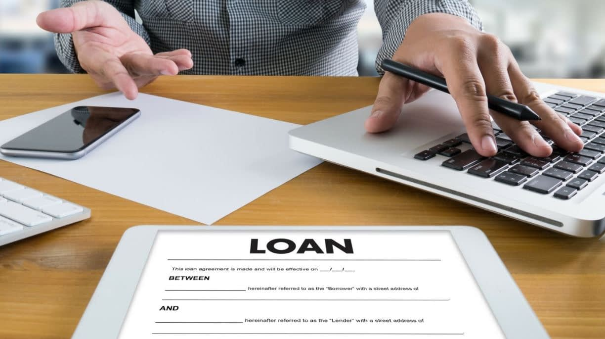 securing a loan